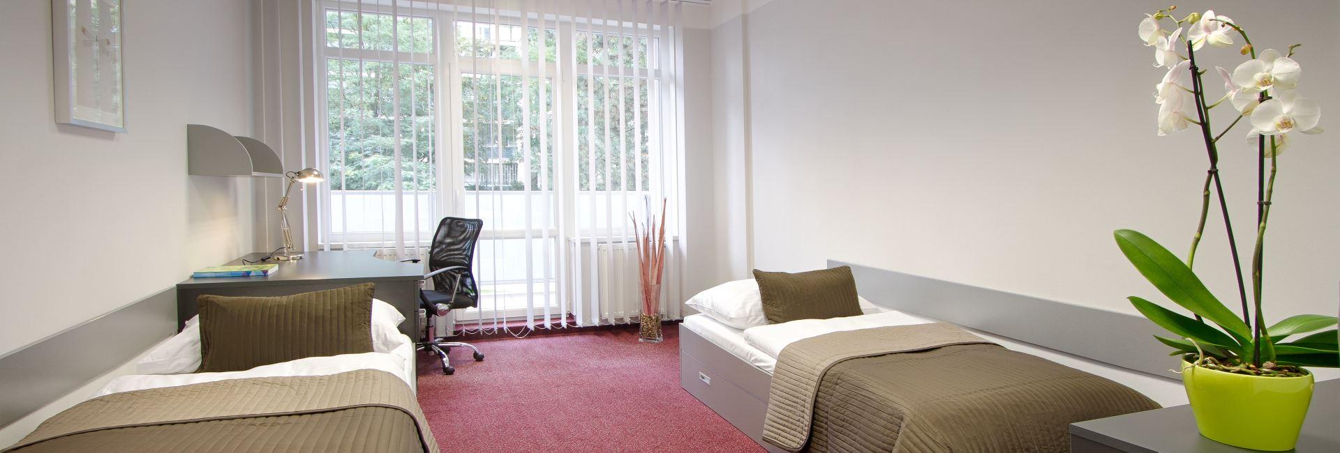 Projekt ApartmanStudent - nadstandardní vysokoškolské koleje Praha